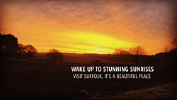 Wake up to stunning Suffolk sunrises video by Tony Pick